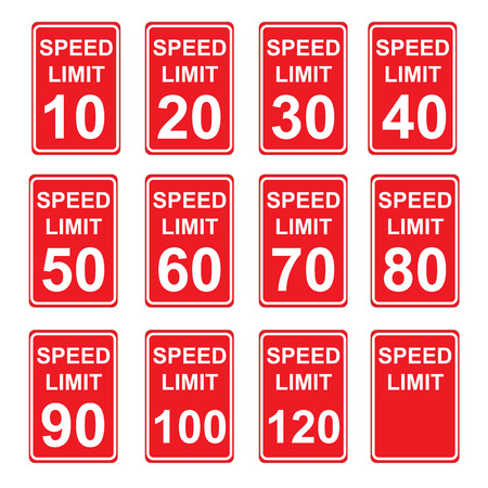 limit: Speed Limit Sign  SET