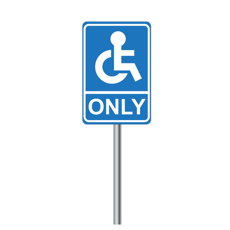 paralyze: Disabled Sign Illustration