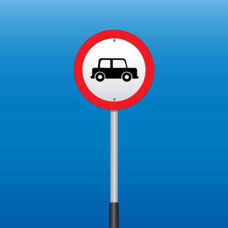 interdiction: Interdiction Sign. Illustrations vectorielles Illustration