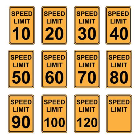 traffic violation: Speed Limit Sign  SET