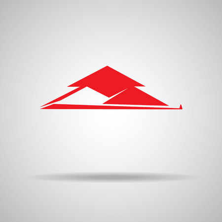 rent house: House red design