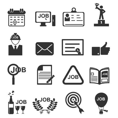 job icon  イラスト・ベクター素材