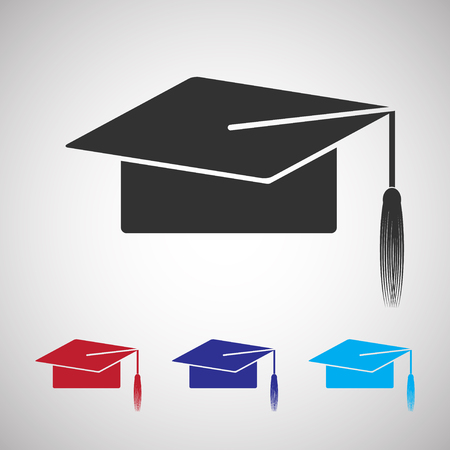 human resource: job icon . graduation