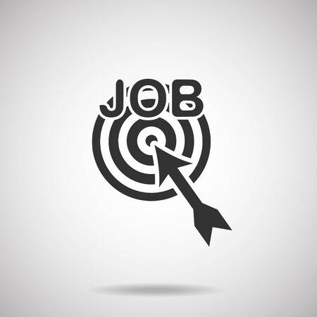 job icon 向量圖像