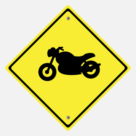 danger ahead: Traffic sign . motor vehicles  sign Illustration