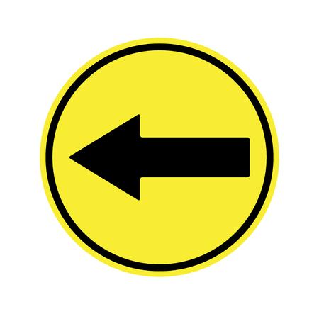 danger ahead: Go Left