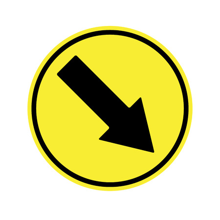 motorist: traffic  sign . Keep Right Sign