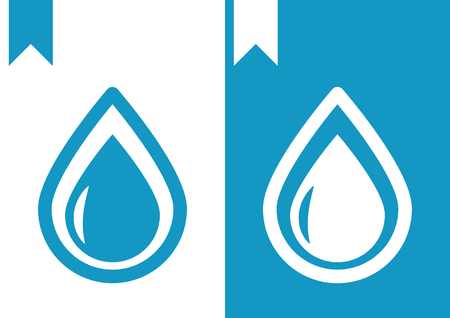 drops of water: Vector Water Drops Icon