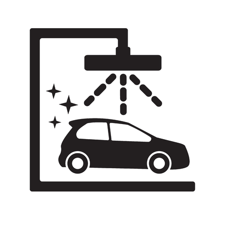 operated: Car wash icons