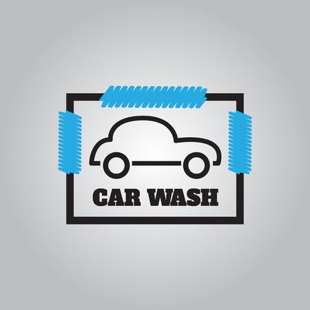 car wash: Car wash icons  .  Car wash  logo vector illustration Illustration