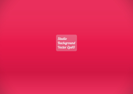 light classroom: Red Pink Studio Background ,Template studio background A4 Size Vector