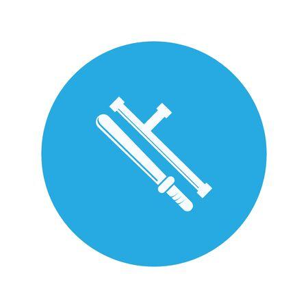 baton: police baton icon