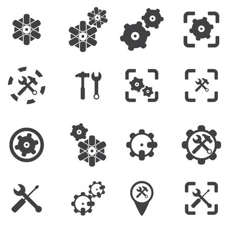cog wheel: Cog wheel icon