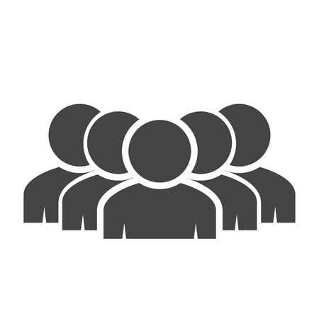 people icon: people work group   icon Illustration