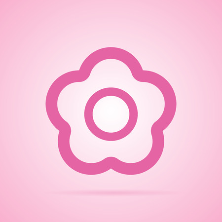 new years background: Sakura flowers icon , cherry blossom icon Illustration