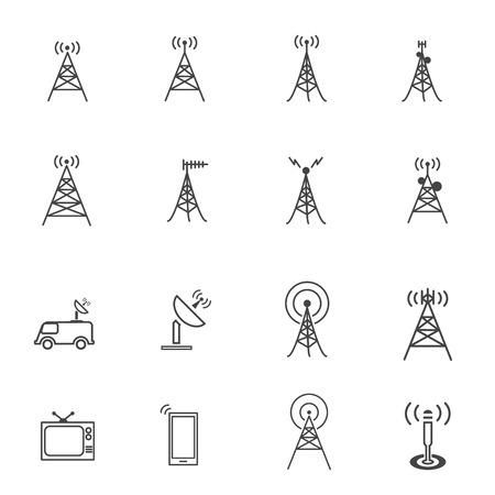 Icono de la antena