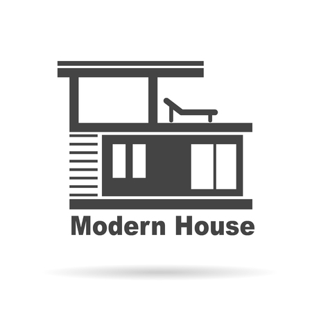 building lot: Modern House . House Real Estate  design
