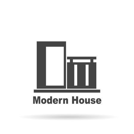 real estate house: Modern House . House Real Estate  design