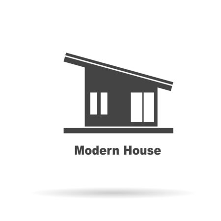 real estate house: Modern House . House Real Estate    design Stock Photo