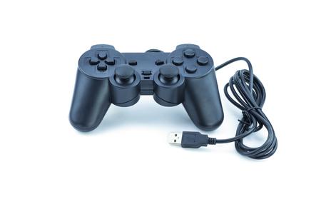 the gamepad: Gamepad Joystick on white background