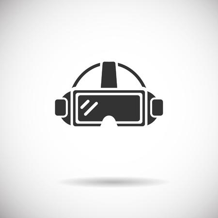 Réalité Virtuelle Icon - VR silhouette