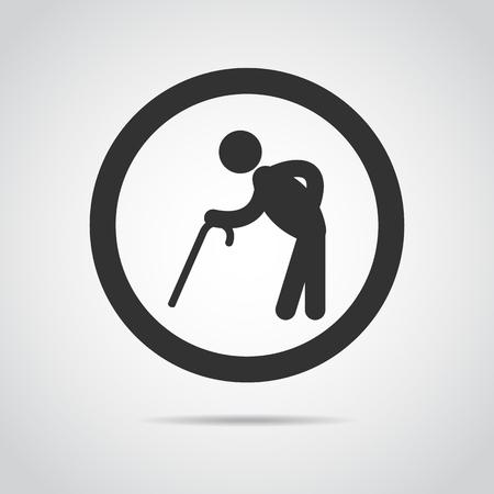 elder: elder icon Illustration