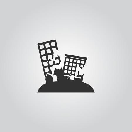 terremoto Icona