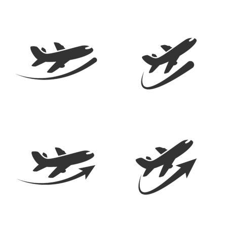 Air Plane of pictogram