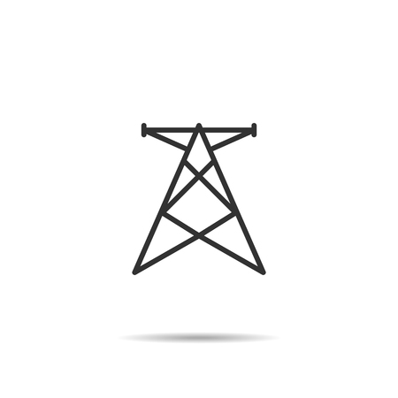 transmissions tower icon Illustration