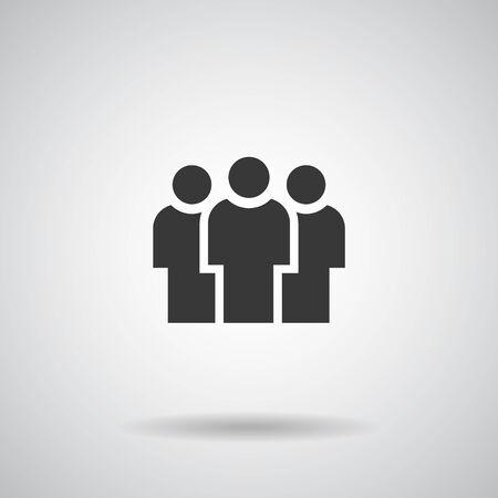 People Icons, Person work group Team Vector Ilustración de vector