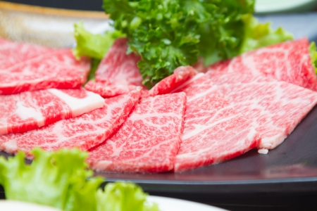raw  meat for BBQ Stock Photo - 19221237