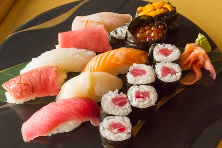 close up food: sushi,japanese food