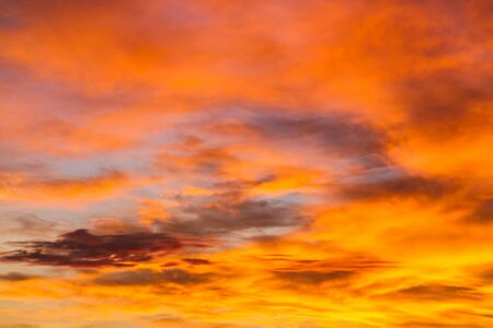 dramatic sunrise: Dramatic sunrise sky with clouds.Blur or Defocus image.