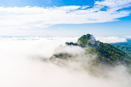 mistery: mountain and mist in Thailand