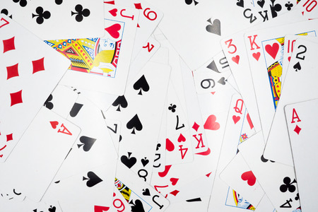 jack of diamonds: Playing cards background.