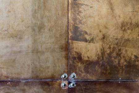 metal wall: Old grunge rust wall background.