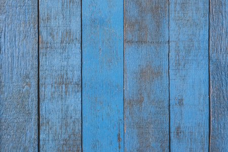 Old blue wood texture background.