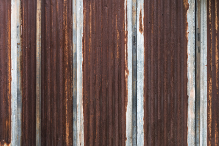 Rusty galvanized iron background Reklamní fotografie - 82147423