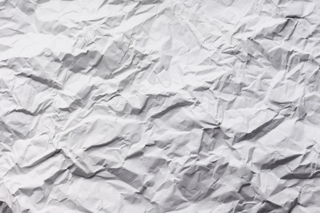 Abstract texture background of wrinkled white paper Stock Photo - 98906572