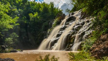 Beautiful waterfall in green forest, Phetchabun province, Thailand Stockfoto
