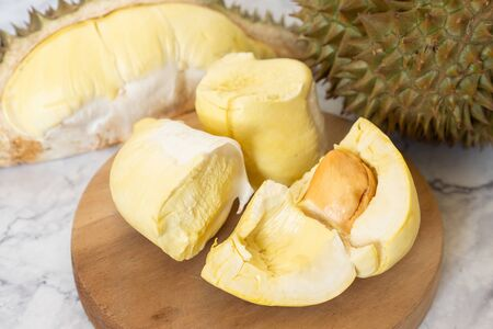 King of Fruits, Durian is a popular tropical fruit in Thailand.