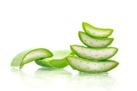 Aloe Vera leaves. Aloe Vera gel is very useful herbal medicine for skin care Stock fotó