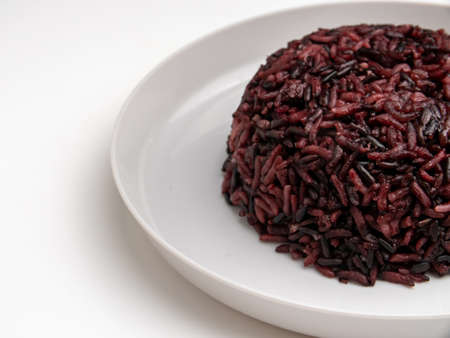 Rice berry contains minerals, vitamins and fiber which are beneficial for health.