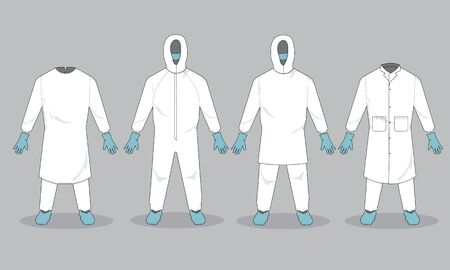 Medical personal protective suit equipment for frontliners