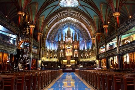 몬트리올, 퀘벡에있는 노트르담 성당