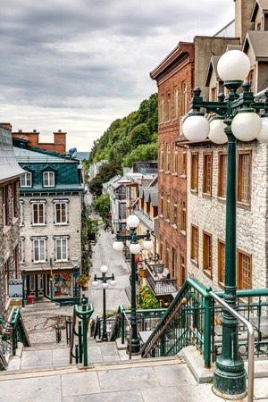 The historic district of Old Quebec is a UNESCO World Heritage Site