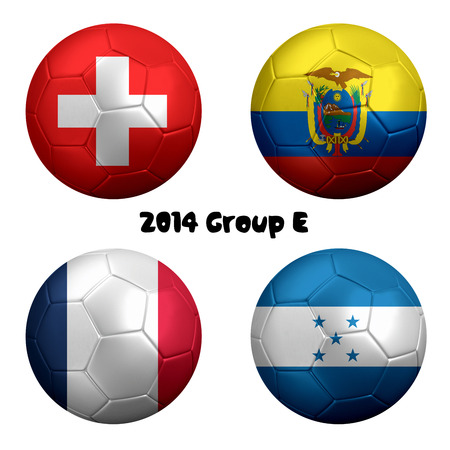 2014 FIFA World Cup Soccer Group E Nations photo
