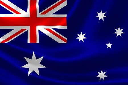 3D rendering of Australia