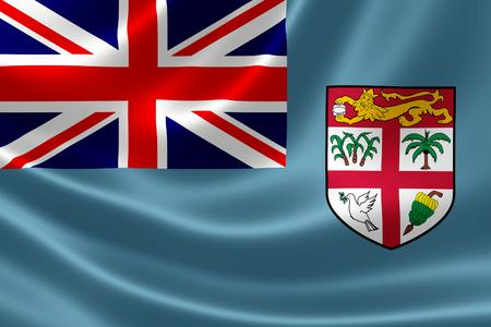 Rendering 3D di Fiji Archivio Fotografico - 29380769