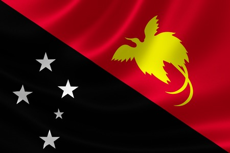 Nuova Guinea: Rendering 3D di Papua Nuova Guinea